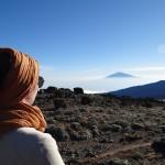 Kilimandjaro vue sur le Meru